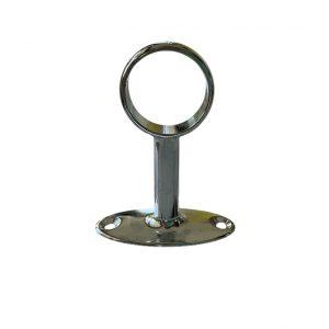 Крепление труб к стене проходное / сквозное, для трубы диаметром 25 см