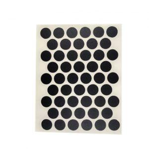 Конфирмат заглушка самоклейка WEISS черная 2110 в интернет магазине мебельной фурнитуры Феникс г. Харьков с доставкой по Украине