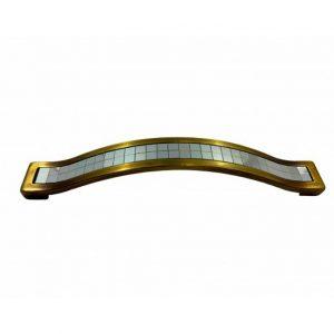 купить ручку BETA BT 224мм бронза хром в интернет магазине мебельной фурнитуры Феникс г. Харьков с доставкой по Украине