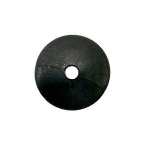 купить шайбу промежуточную для стеклянного стола 50 мм черную в интернет магазине мебельной фурнитуры Феникс г. Харьков с доставкой по Украине