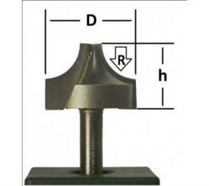 фреза r6-1009