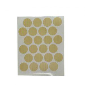 Заглушка cамоклейка к минификсу WEISS клен светлый 7156 в интернет магазине мебельной фурнитуры Феникс г. Харьков с доставкой по Украине