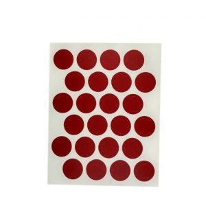Заглушка cамоклейка к минификсу WEISS красный 9032 в интернет магазине мебельной фурнитуры Феникс г. Харьков с доставкой по Украине