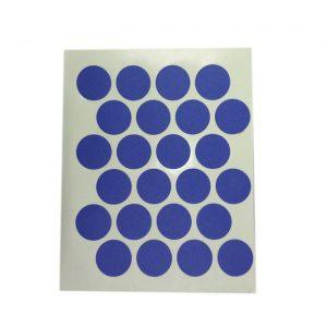 Заглушка cамоклейка к минификсу WEISS синяя 9023 в интернет магазине мебельной фурнитуры Феникс г. Харьков с доставкой по Украине