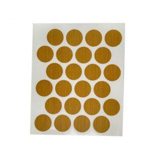 Заглушка cамоклейка к минификсу WEISS сосна 7145 в интернет магазине мебельной фурнитуры Феникс г. Харьков с доставкой по Украине