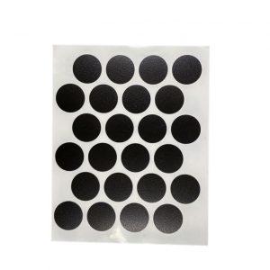 Заглушка cамоклейка к минификсу WEISS черная 2110 в интернет магазине мебельной фурнитуры Феникс г. Харьков с доставкой по Украине