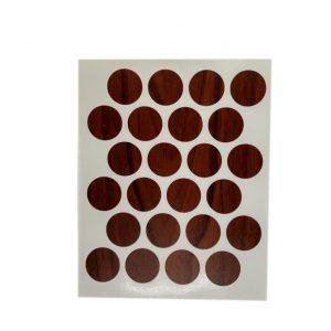 Заглушка cамоклейка к минификсу WEISS яблоко 7059 в интернет магазине мебельной фурнитуры Феникс г. Харьков с доставкой по Украине