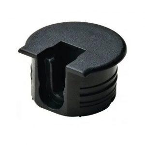 Корпус стяжки RAFIX TAB черный D 20 мм х 12.7 мм в интернет магазине мебельной фурнитуры Феникс г. Харьков с доставкой по Украине