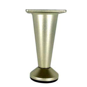 купить ножку мебельную OZSAN 70 мм cатин в интернет магазине мебельной фурнитуры Феникс г. Харьков с доставкой по Украине
