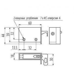 Навес регулируемый GTV размеры в интернет магазине мебельной фурнитуры Феникс г. Харьков с доставкой по Украине
