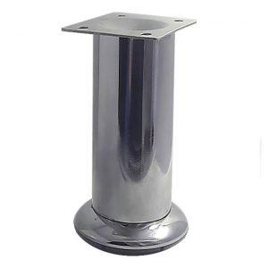 Ножка цилиндр h=120 d=45 хром в интернет магазине мебельной фурнитуры Феникс г. Харьков с доставкой по Украине