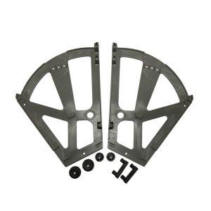 Обувной механизм двойной (крепление откидное) в интернет магазине мебельной фурнитуры Феникс г. Харьков с доставкой по Украине