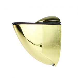 Полкодержатель пеликан золото малый 40 мм в интернет магазине мебельной фурнитуры Феникс г. Харьков с доставкой по Украине