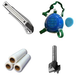 Инструмент, расходные материалы, упаковка