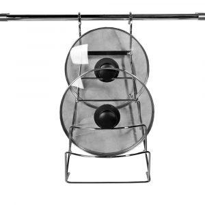 купить Вешалка для крышек на рейлинговую трубу d-16мм. в интернет магазине мебельной фурнитуры Феникс г. Харьков с доставкой по Украине