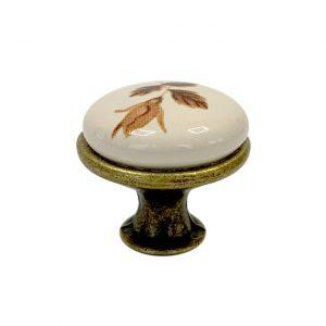 купить ручку GP MLK192 кнопку с узором в интернет магазине мебельной фурнитуры Феникс г. Харьков с доставкой по Украине