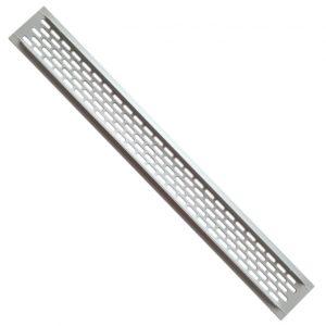 Купить решетку для вентиляции KK-W60800-MO GTV в интернет магазине мебельной фурнитуры Феникс г. Харьков с доставкой по Украине
