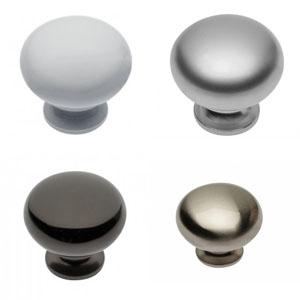 Ручка мебельная (кнопка) BERGAMO